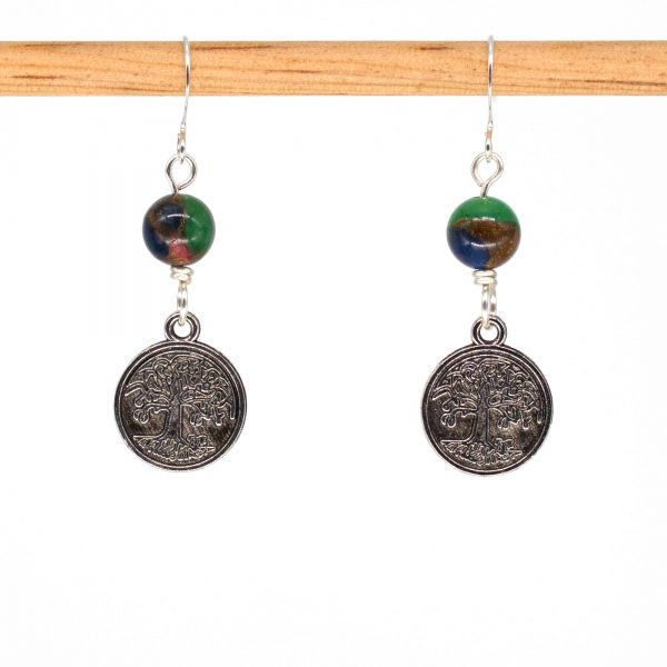 E1006 - Life Earrings