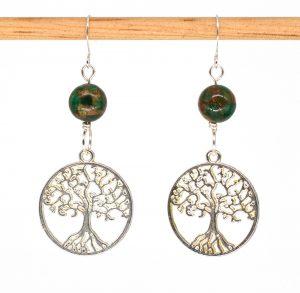 E1011 - Verde Arbor Earrings