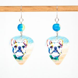 E1017 - Bull Doggo Earrings