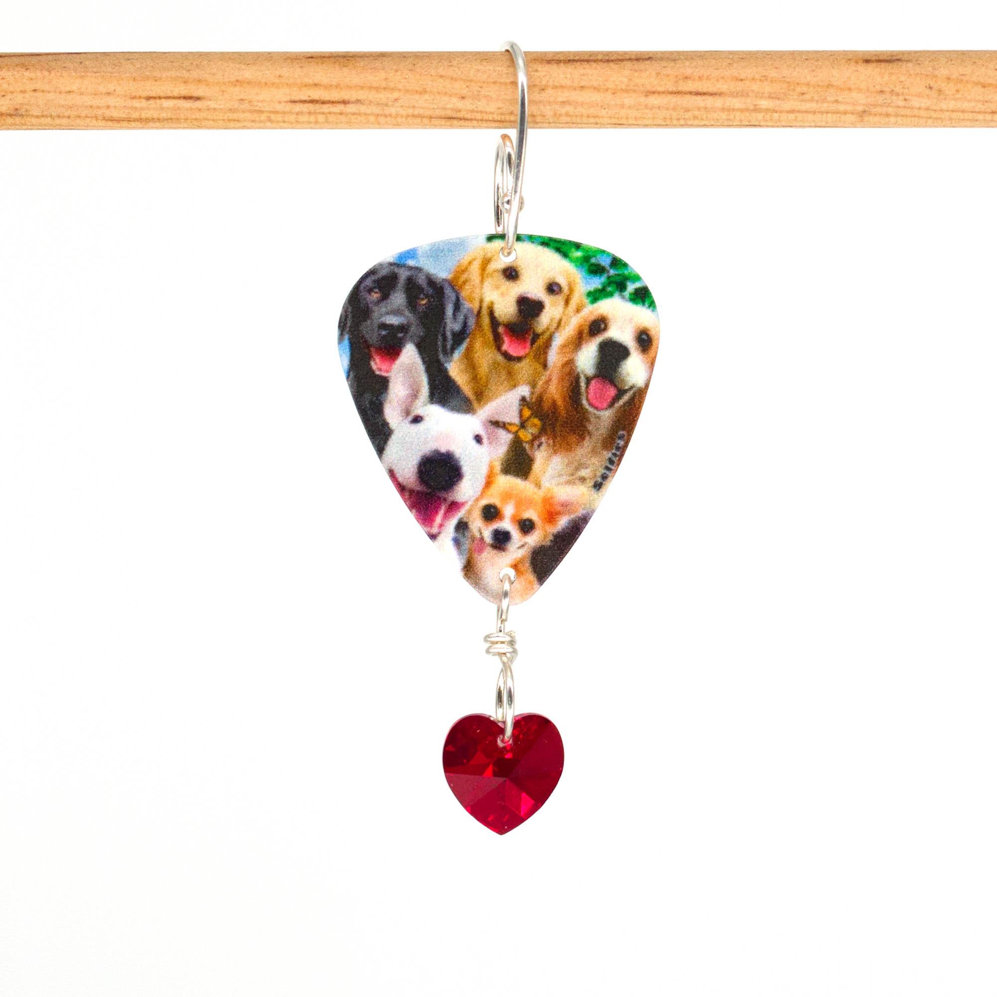 E1018D - Doggo Love Earrings