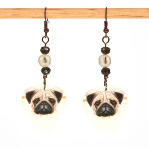 E1019 - Puggo Love Earrings