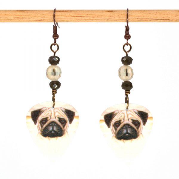 E1019 - Puggo Love Earrings