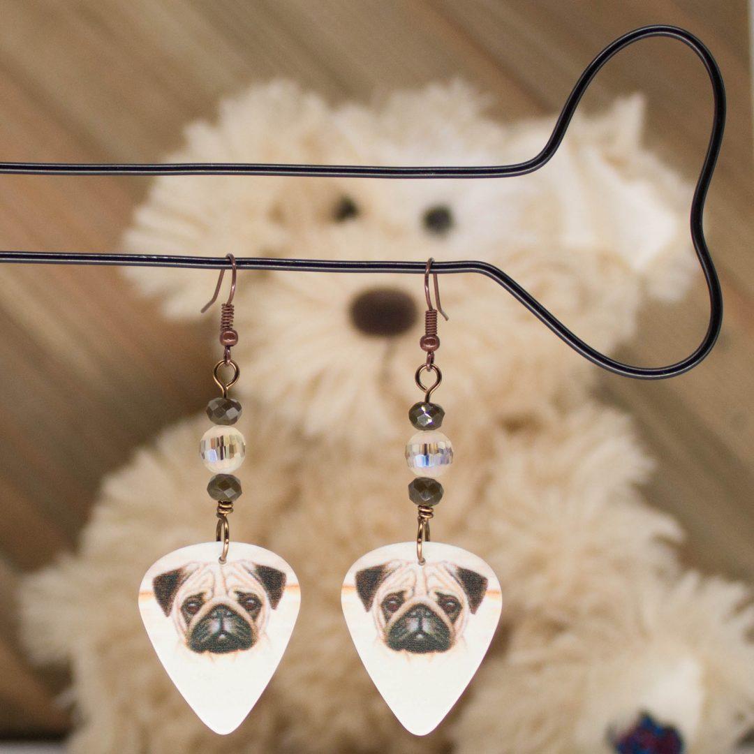 E1019LS - Puggo Love Earrings