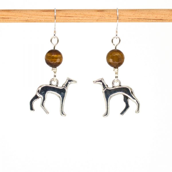 E1035 - Tiger Hound Earrings
