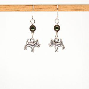 E1044 - Verde Scotty Earrings