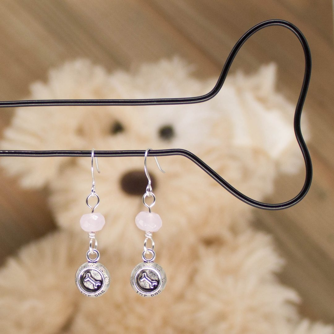 E1063LS - Pink Bones Earrings