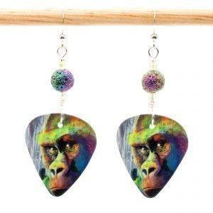 E941 - Look Away, Hooman Earrings