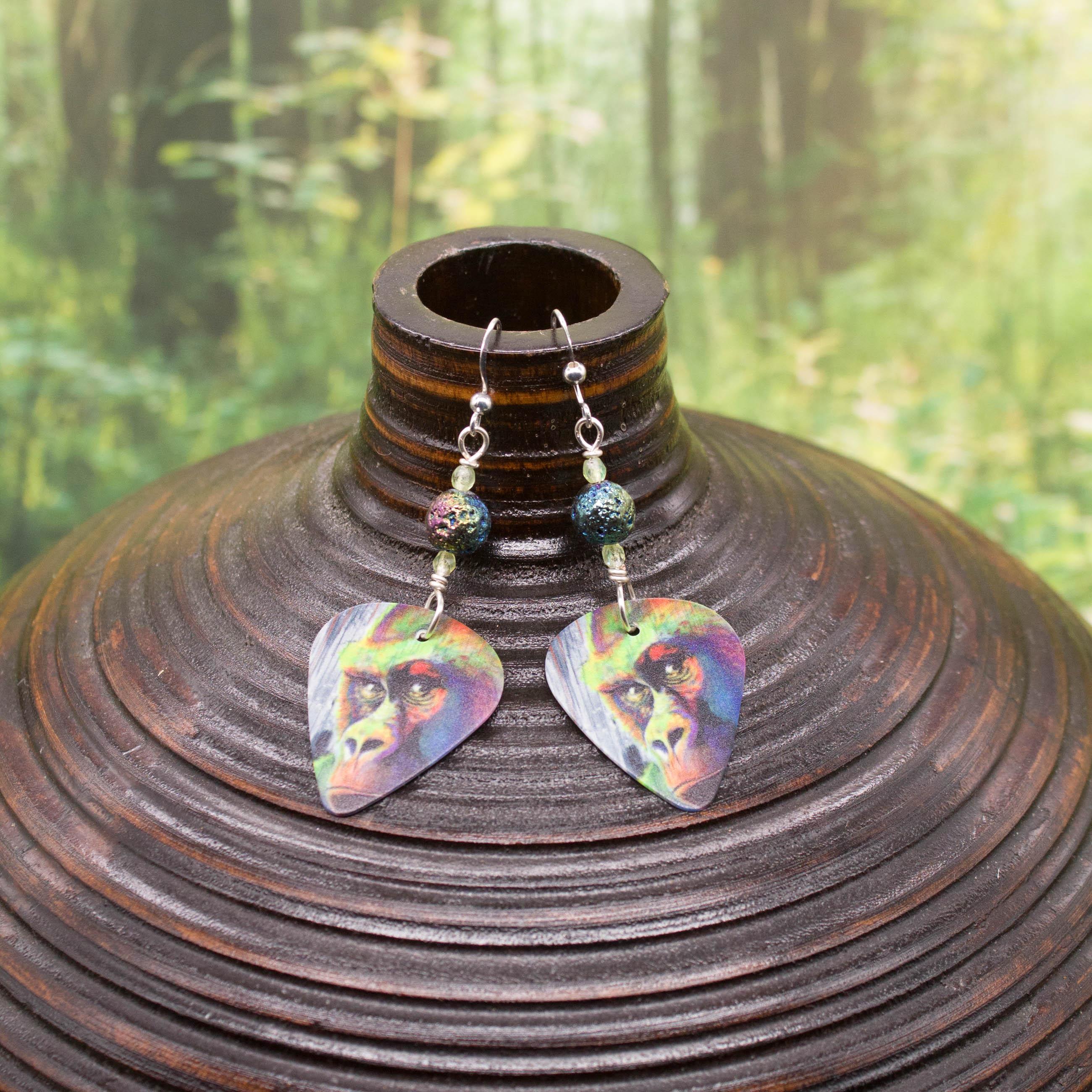 E941LS- Look Away, Hooman Earrings