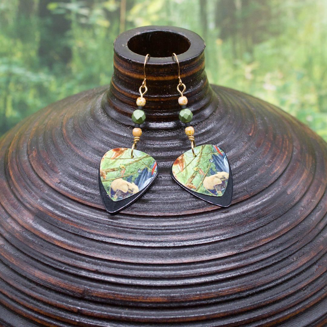 E950LS - Forest Friends Earrings