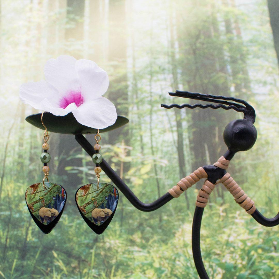 E950LS2 - Forest Friends Earrings