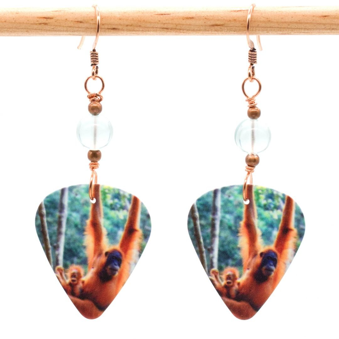 E958 - Hang in There Earrings