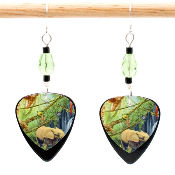 E962 - In The Jungle Earrings