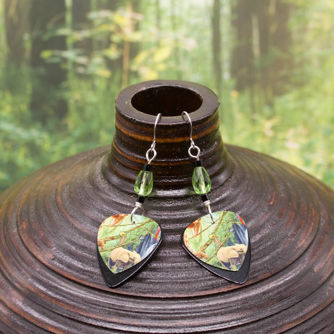 E962LS - In the Jungle Earrings