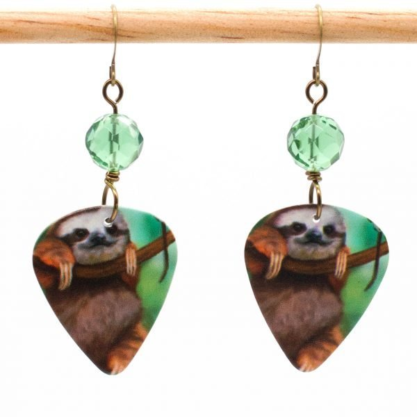 E973 - Chillaxin' Sloth Earrings