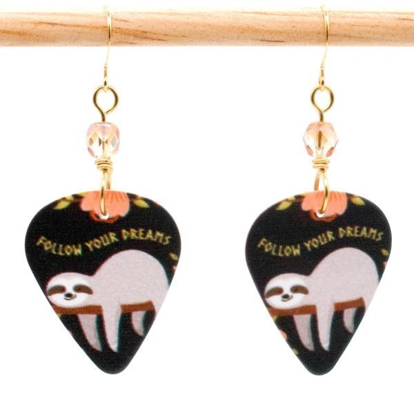 E974 - Dreamy Sloth Earrings