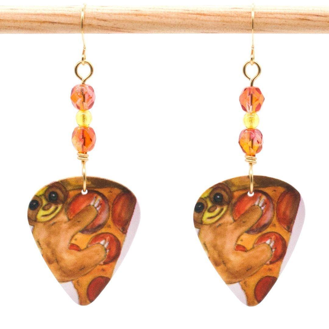 E979 - Sloth Joy Earrings