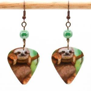 E981 - Cuddle Sloth Earrings