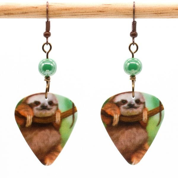 E981 - Cuddle Sloth Earrings