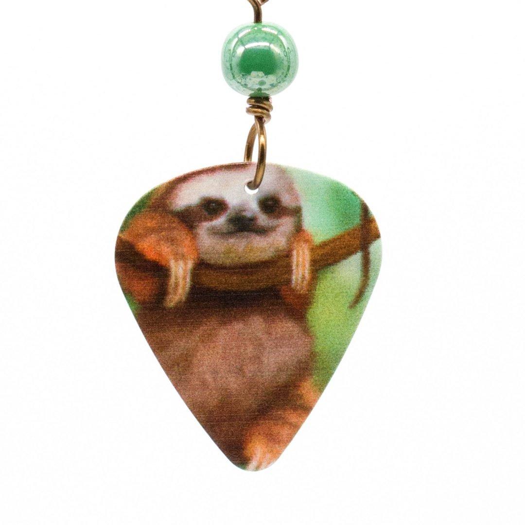 E981D - Cuddle Sloth Earrings
