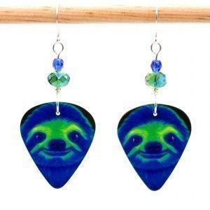 E986 - Soylent Green Sloth Earrings
