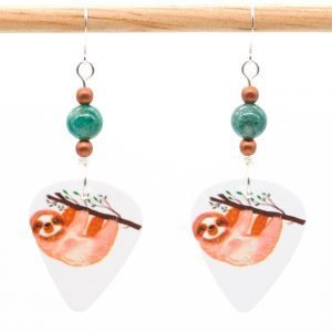 E989 - Branching Out Sloth Earrings