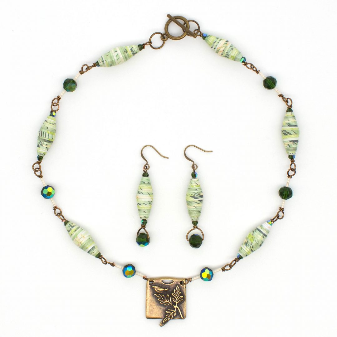 NE809a - Verde Aves Necklace