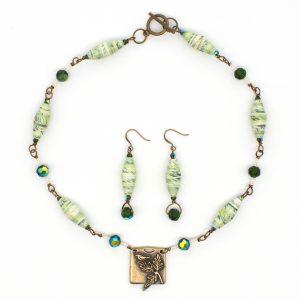 NE809a - Verde Aves Necklace