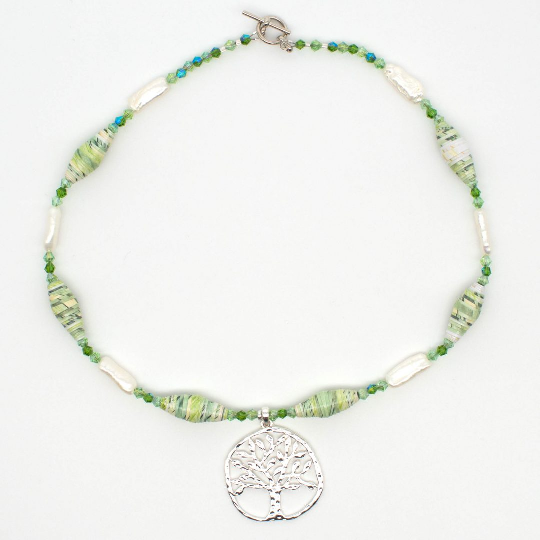 NE810c - Pearl Arbor Necklace