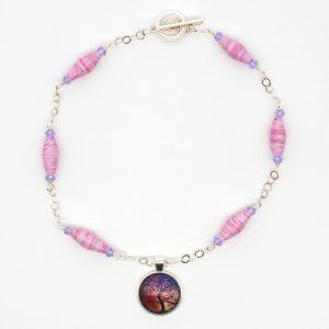 NE811a - Windswept Necklace
