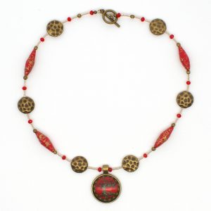 NE813a - Geisha Girl Necklace