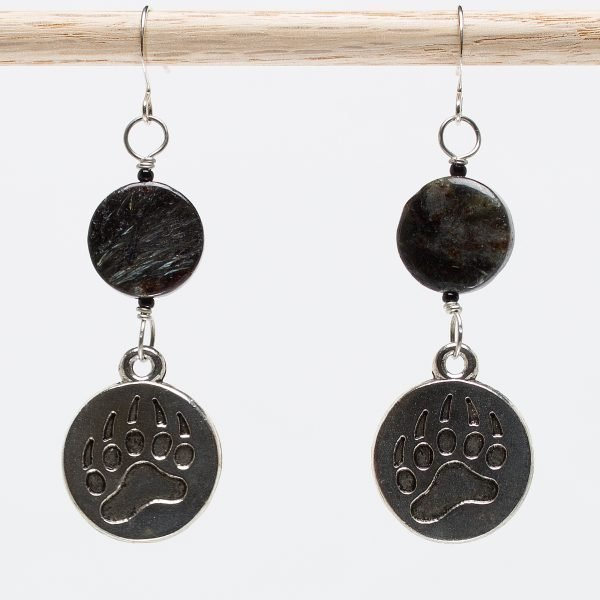 E402 - Beary Scary Earrings