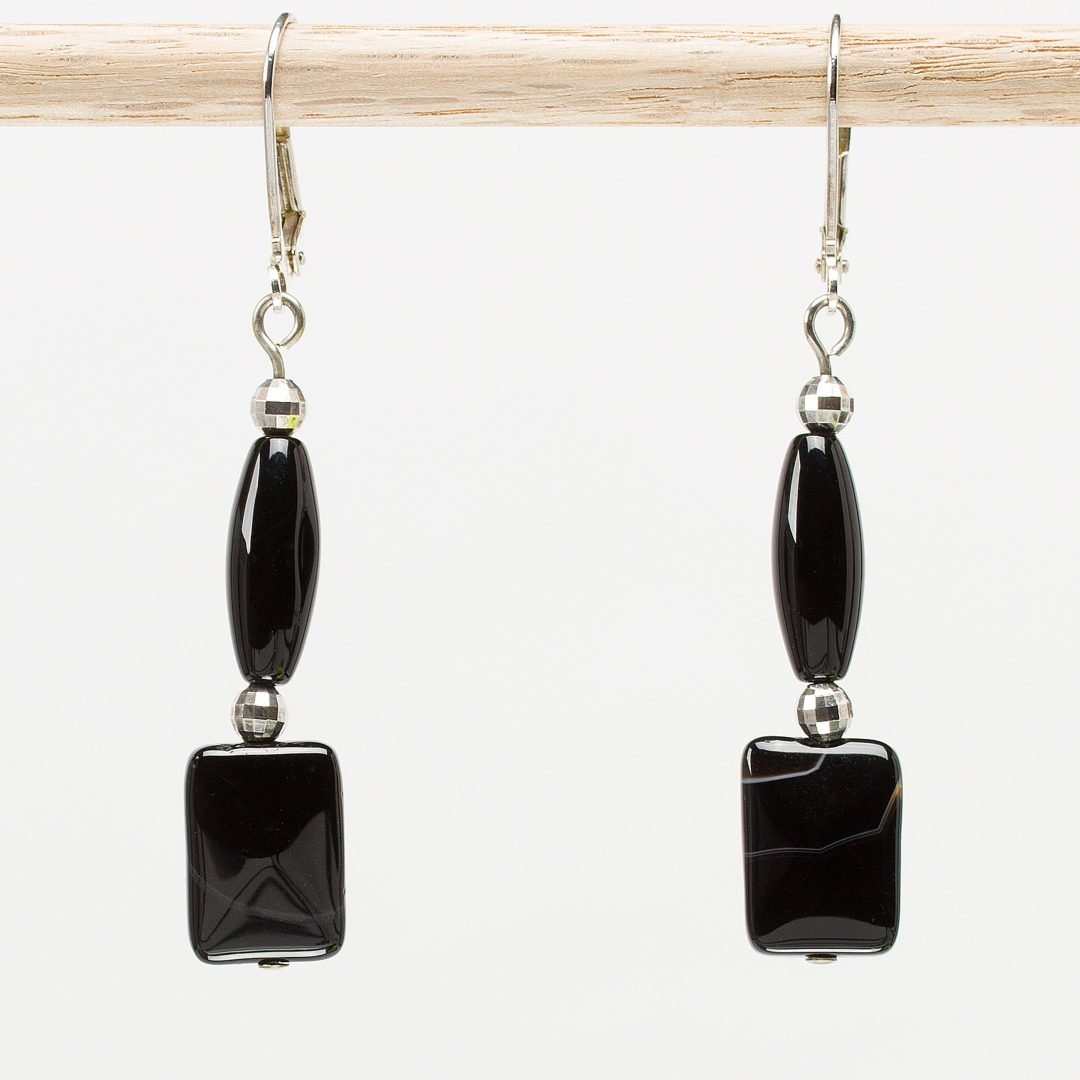 Ebony Elegance Earrings