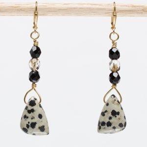 Dalmation Earrings