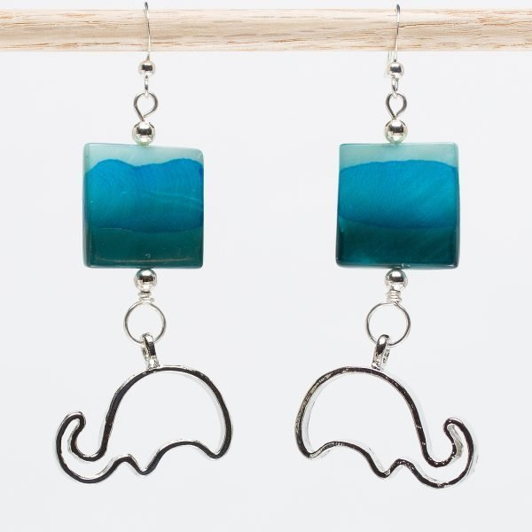 E738 - Blue Ellies Earrings