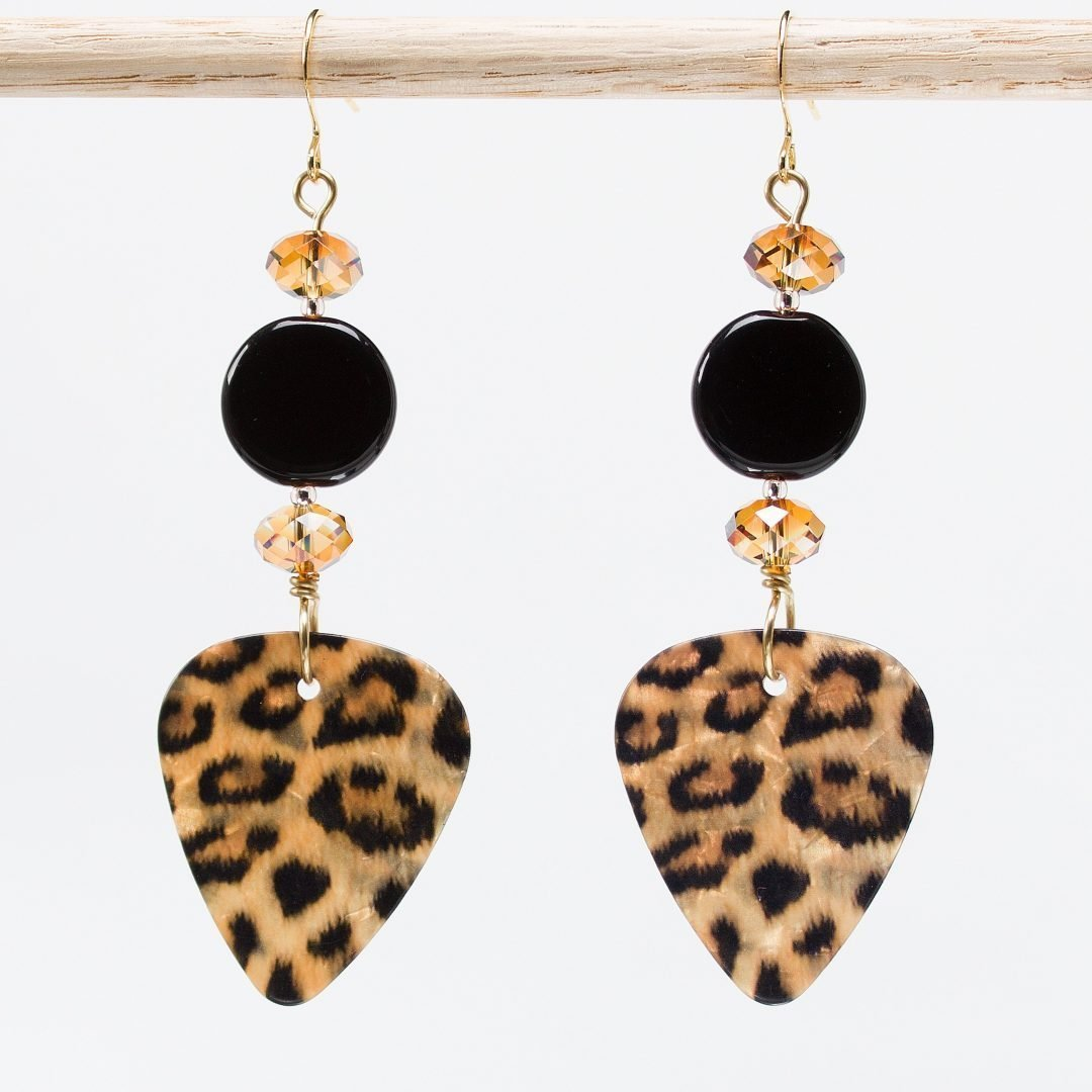 E747 - Luscious Leopard Earrings