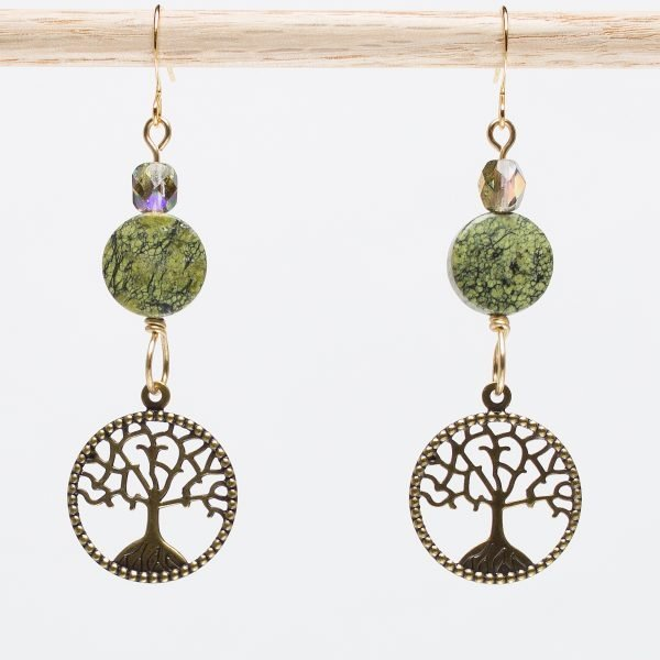 Seredipi-Tree Earrings