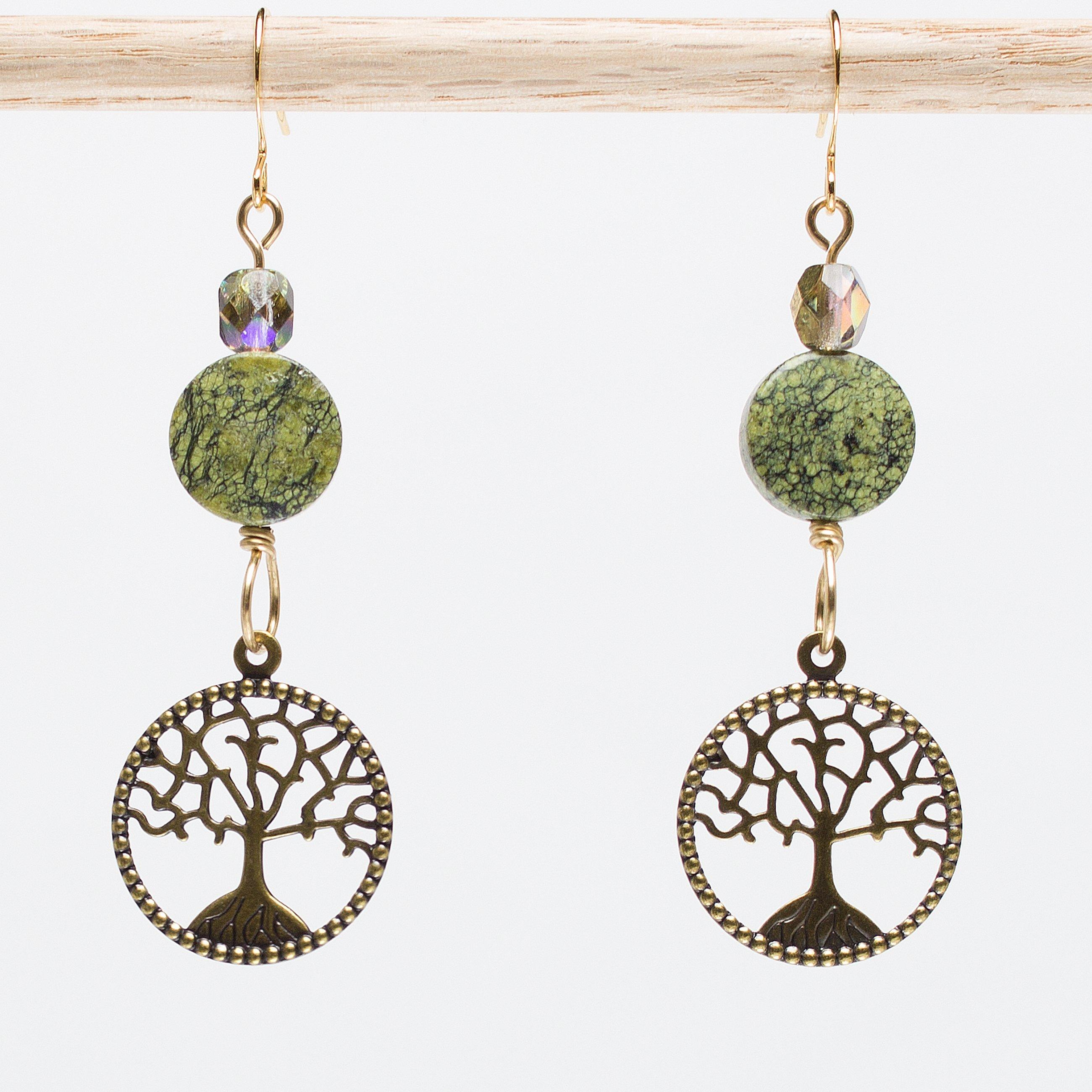 Seredipi-Tree Earrings
