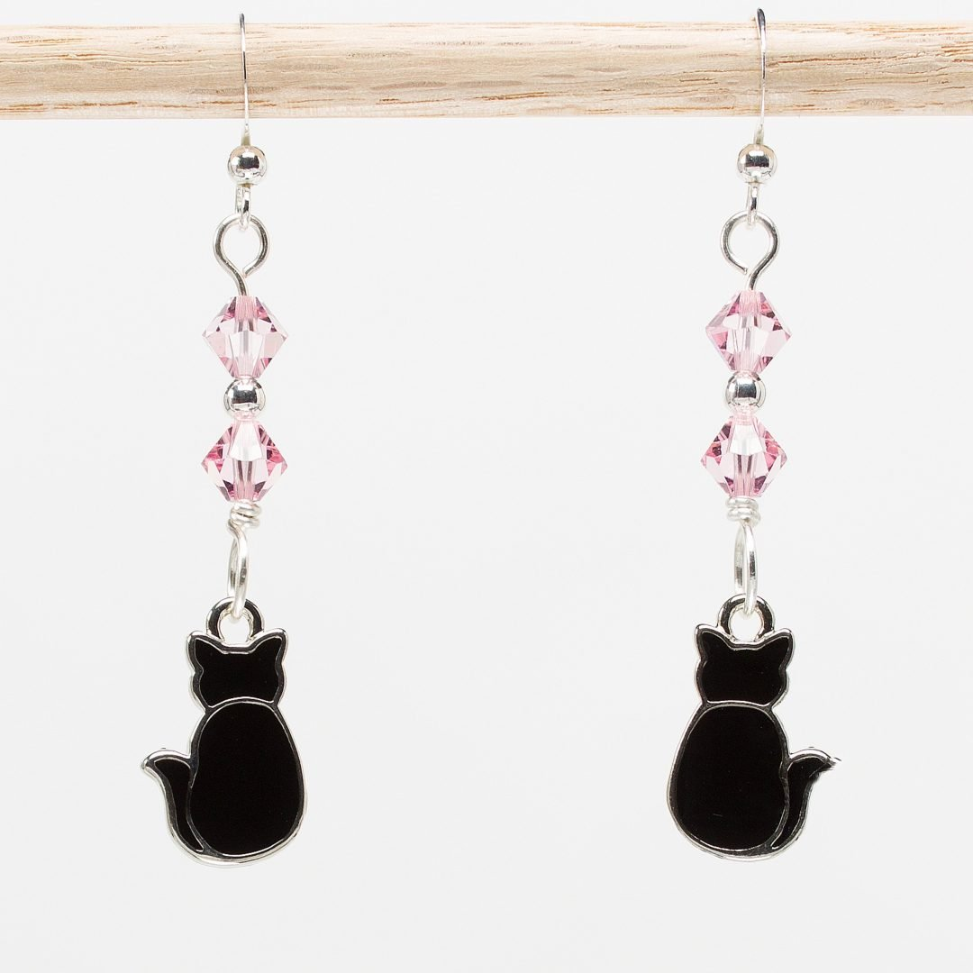 E867 - Kitteh Butt Earrings