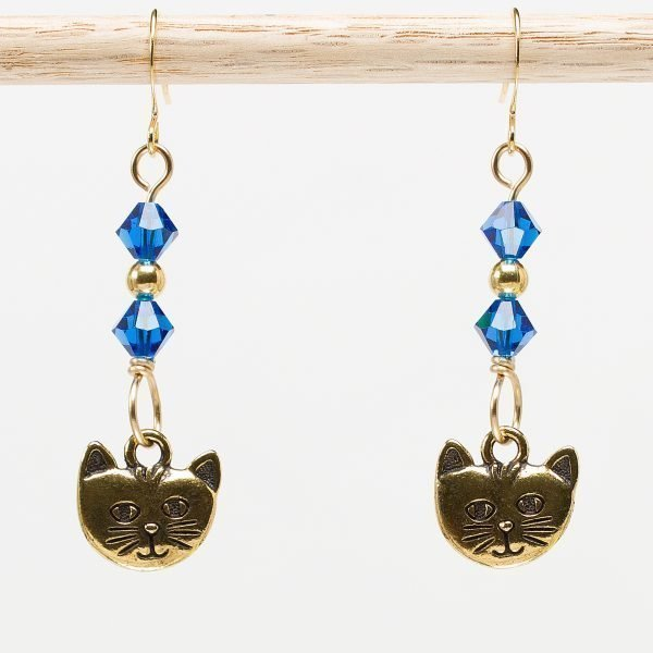 E874 - Capricious Kitteh Earrings