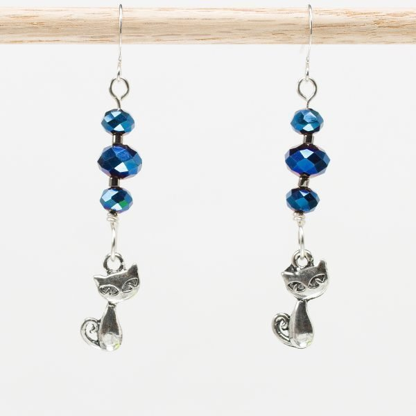 E878 - Stardust Kitteh Earrings