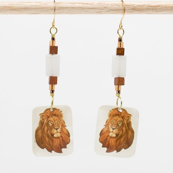 E805 - The King Earrings