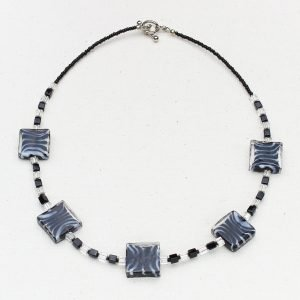 Zebra Mania Necklace