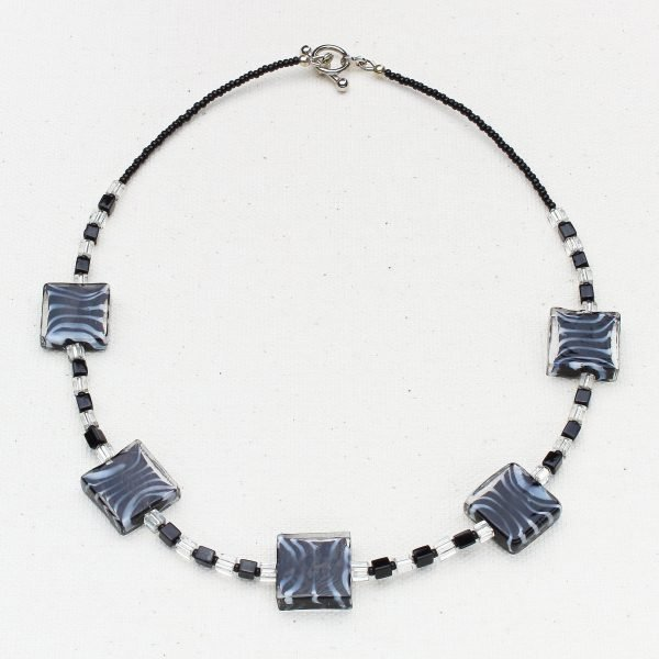 Zebra Mania Necklace