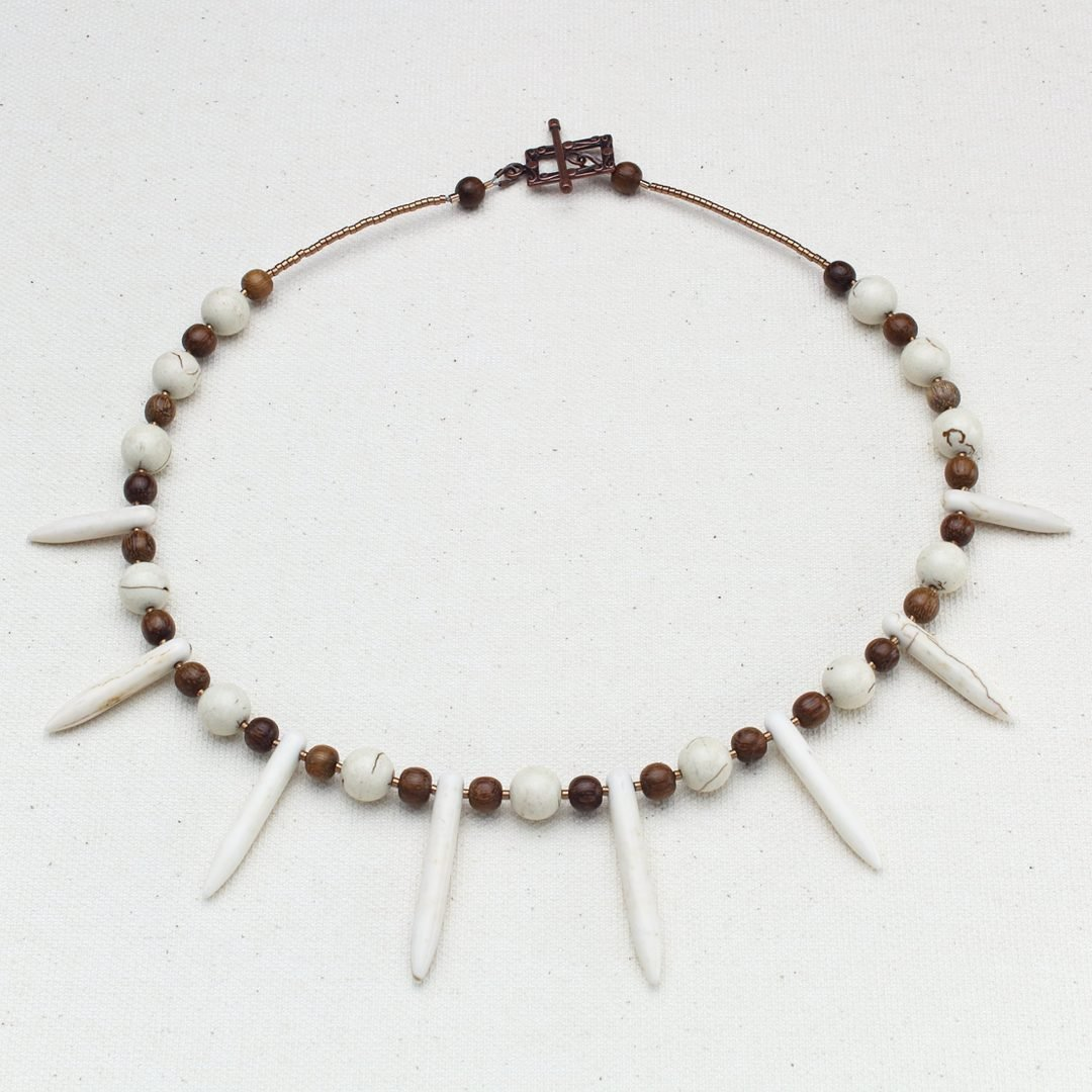 Snowy Woodland Necklace