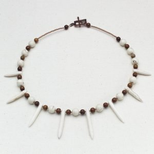 Snowy Woodland Necklace