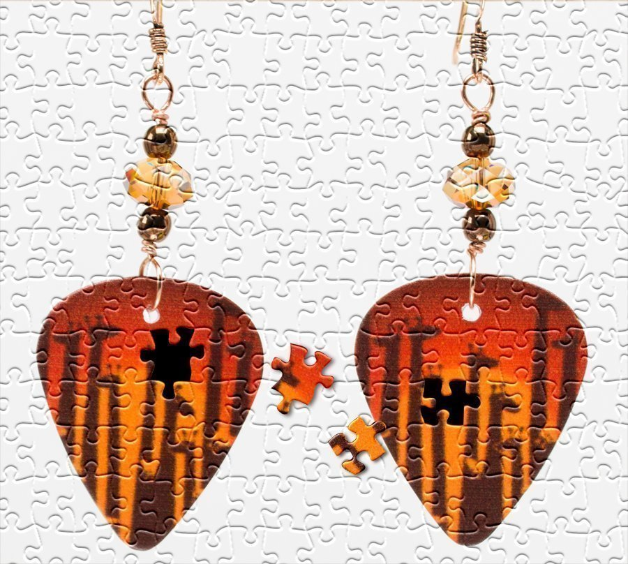 Igugu Beads - Party Giraffe Earrings