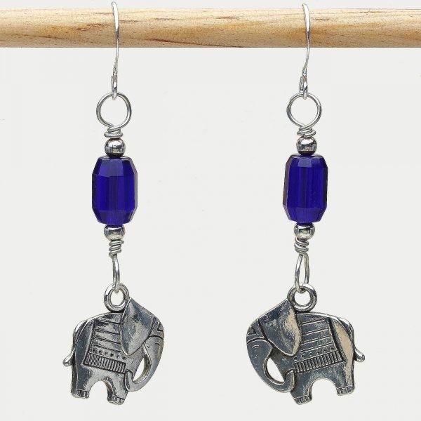 E414 - Cobalt Ellie Earrings