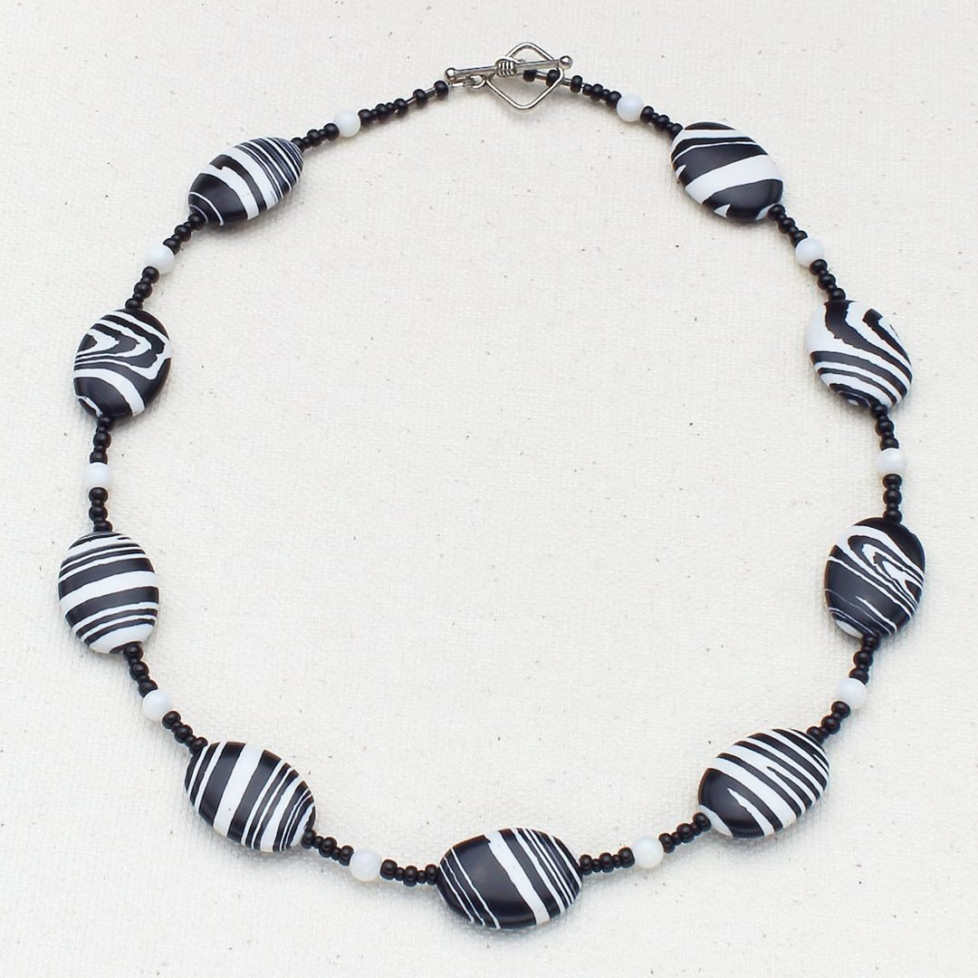 N625 - Grevy's Zebra Necklace