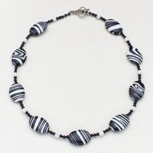 N625 - Grevy's Zebra Necklace