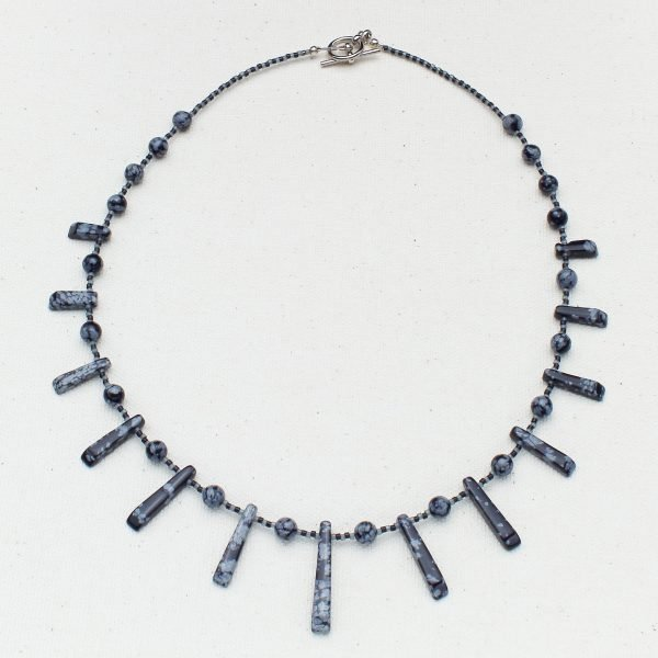 Snowflake Fanfare Necklace